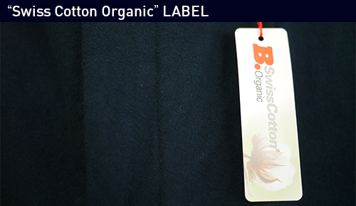 """Swiss Cotton Organic"" LABEL"