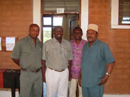 bioReプロジェクトのトレーニングセンターの人たち