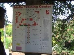 トレーニングセンターの見取り図