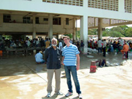 NiranjanさんとSimonさん