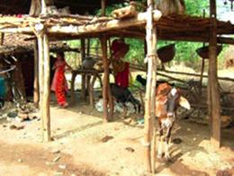 交流最初の村(Neemgarh村)