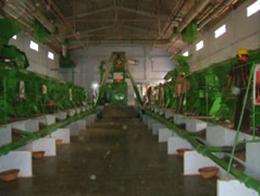 ジニング工場内部