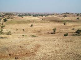 Neemkundiya村風景。